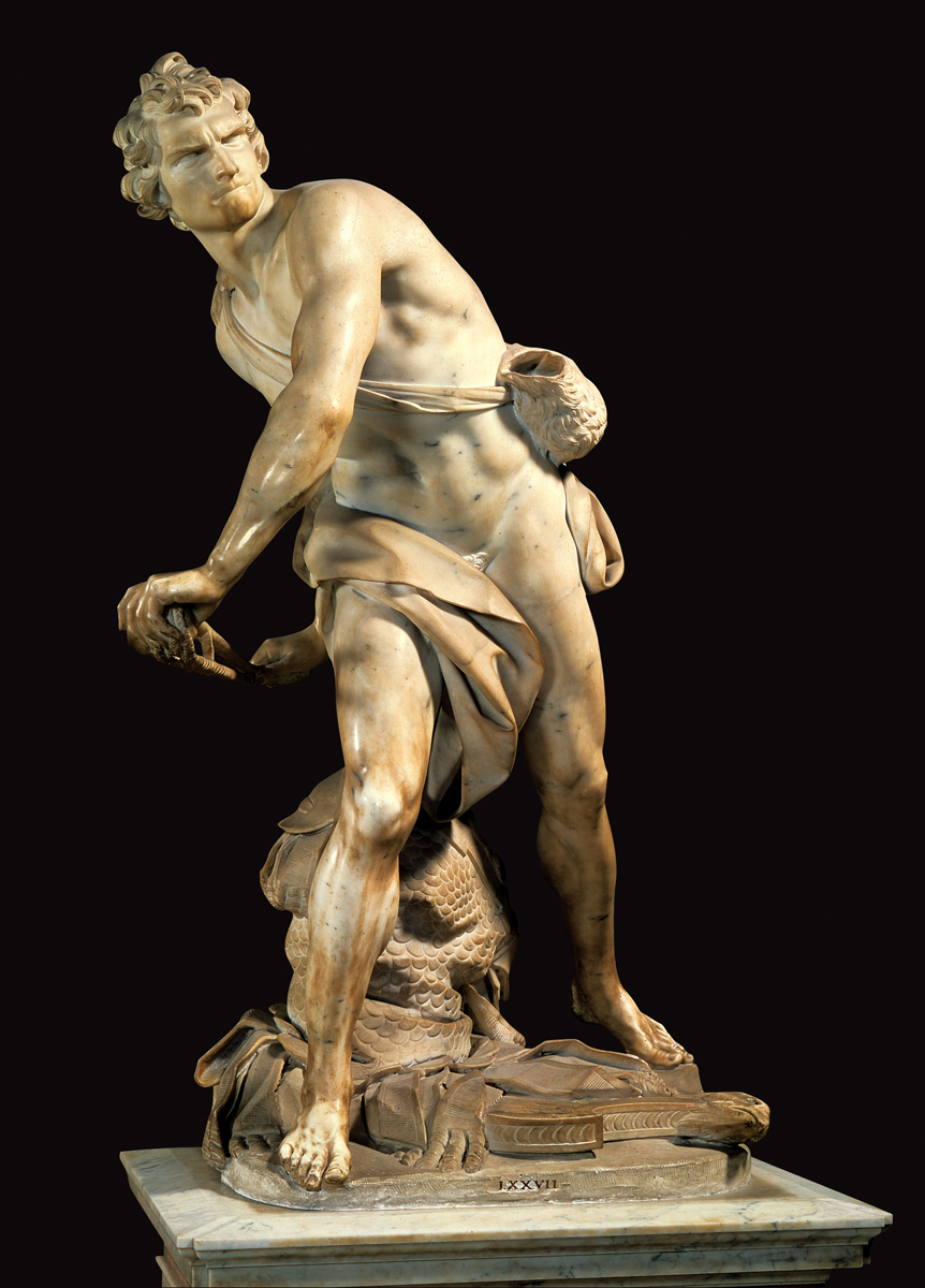 the sculptures of david and the origin of art