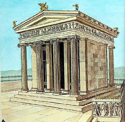 Greek Art Architecture High Classical Architecture Temple Of