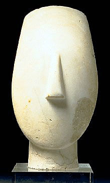 Greek Art Amp Architecture Cycladic Sculpture
