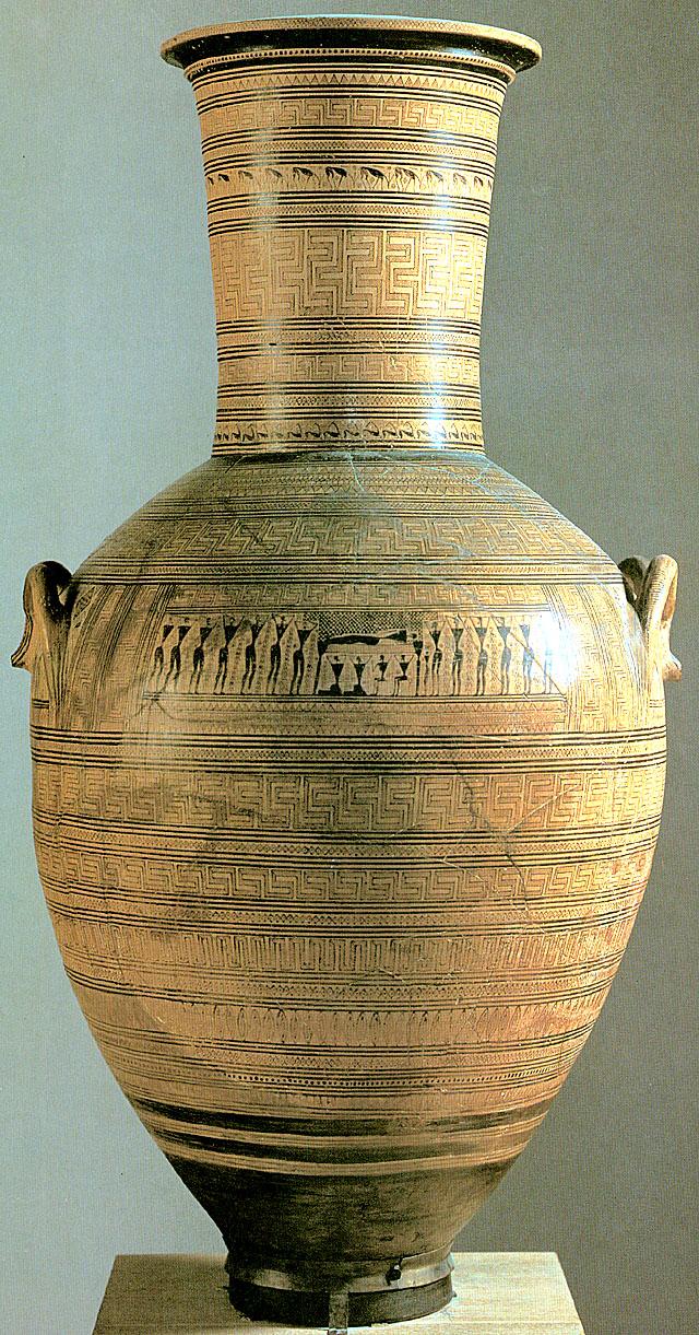 Greek Art Architecture Geometric Pottery