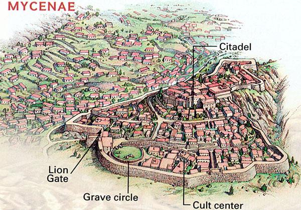 Grave Circle A, Mycenae - Wikipedia