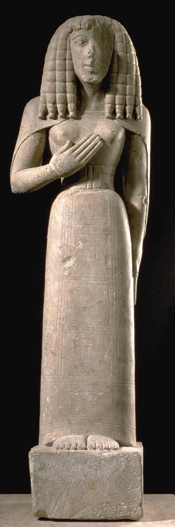 Greek art architecture orientalizing sculpture