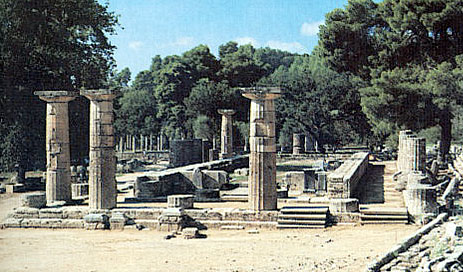 Greek Art & Architecture: Temple of Hera, Olympia