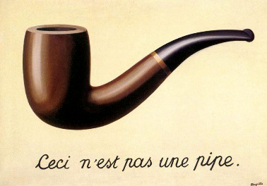 Rene Magritte The Treachery Of Images The Visual Experience:...